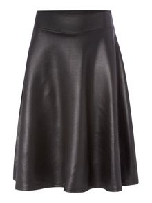 Therapy PU A-Line Skirt