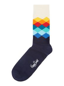 Happy Socks Printed ankle sock