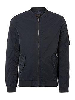 Fletcher Baseball Neck Bomber Jacket