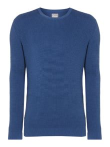 Linea Thompson Textured Crew Neck Knit
