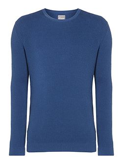 Thompson Textured Crew Neck Knit