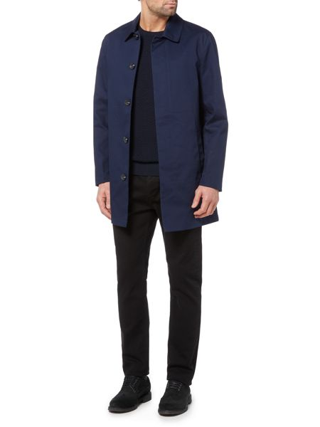 Linea Willis Bonded Cotton Mac Jacket