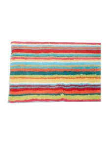 Linea Bright stripe bath mat