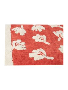 Dickins & Jones Orange dandy floral bath mat