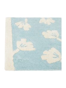 Dickins & Jones Blue dandy floral bath mat