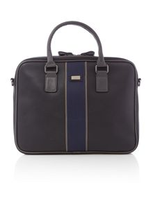 Dentown laptop striped bag