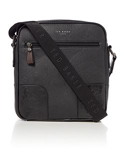 Ted Baker Tuune pu embossed flight bag
