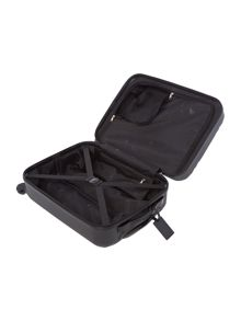 Nevada black 4 wheel cabin suitcase