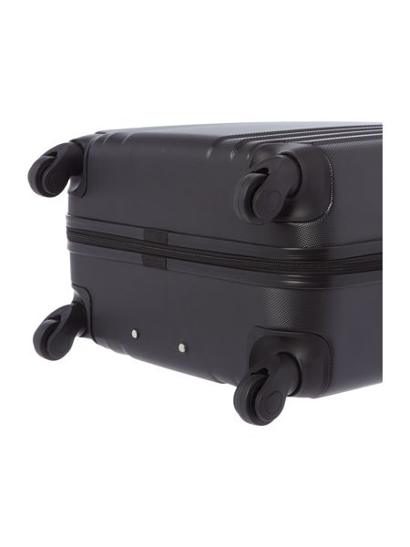 Linea Nevada black 4 wheel medium suitcase