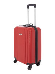 Linea Nevada red 4 wheel cabin suitcase