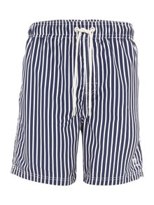 Howick Butcher Stripe Swim Shorts