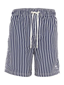 Butcher Stripe Swim Shorts