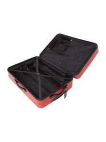 Nevada red 4 wheel large suitcase