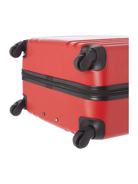 Linea Nevada red 4 wheel large suitcase
