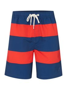 Howick Rugby Stripe Swim Shorts