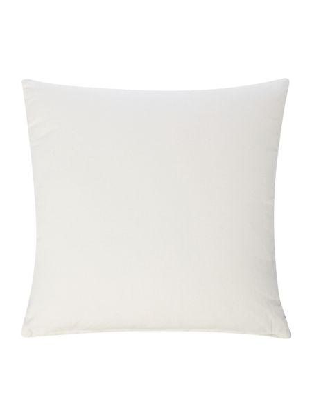 Linea Embroidered swirl cushion