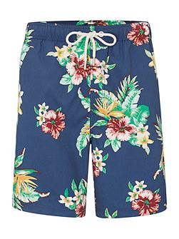 Tropical Hawaiian Swim Shorts