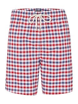 Gingham Check Swim Shorts
