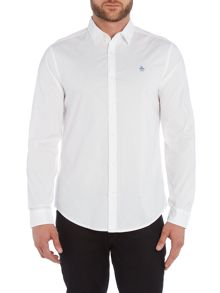 Original Penguin Long Sleeve Popper Shirt