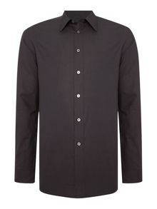 Long Sleeved Poplin Shirt