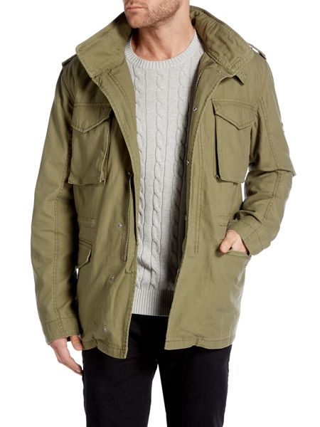 Original Penguin John field jacket with detachable gilet