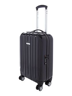 Linea Movelite black 8 wheel hard cabin suitcase