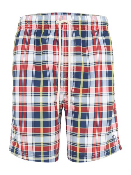 Howick Check Swim Shorts