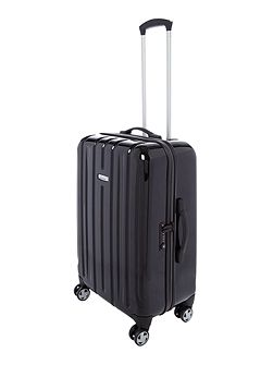 Movelite black 8 wheel hard medium suitcase