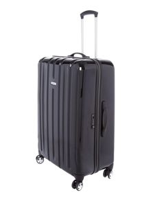 Movelite black 8 wheel hard large suitcase