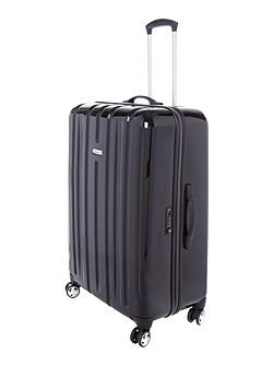 Linea Movelite black 8 wheel hard large suitcase