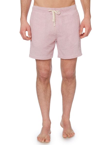 Linea Seersucker Swim Shorts