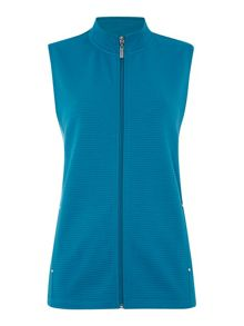 TIGI Stand Up Collar Gilet
