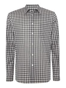 PS By Paul Smith Long Sleeved Black Tartan Shirt