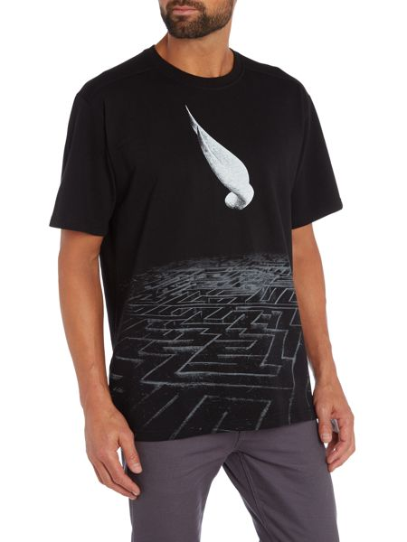Tee Library Minotaur - the maze oversized printed t shirt