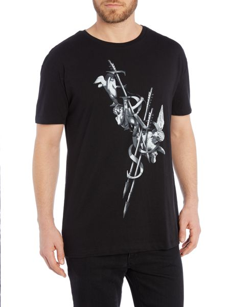 Tee Library Eros arrow oversize printed t shirt