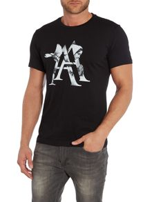 Tee Library Scarlet A regular fit printed t shirt
