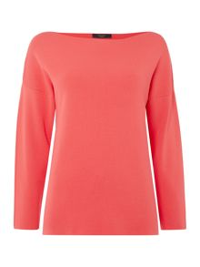 Max Mara Rumena boatneck long sleeve  jumper