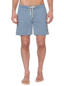 Linea Triangle Print Swim Shorts