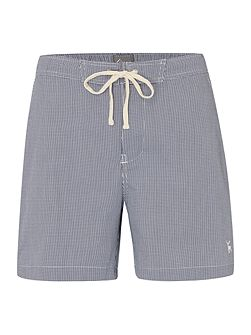Micro Gingham Swim Shorts