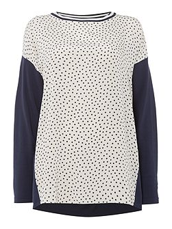 Guidy printed front jumper
