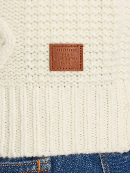 Gant Chunky Cable Crew Neck Jumper