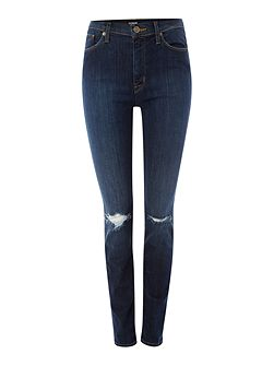 Barbara high rise super skinny jean in convoy