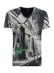 Replay V-Neck Jersey T-Shirt