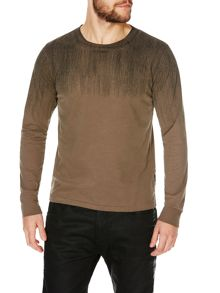 JERSEY T-SHIRT ROUND NECK LONG SLEEVES