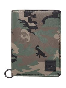 Replay Military Leather Wallet