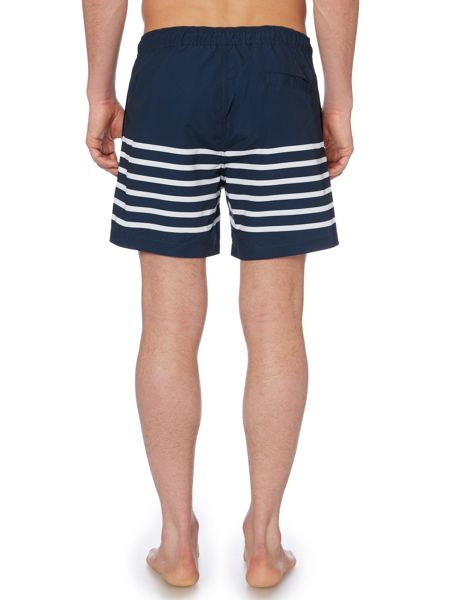 Linea Engineered Stripe Swim Shorts