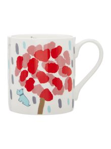 Flower shower multicoloured single mug