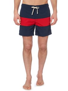 Linea Block Stripe Swim Short