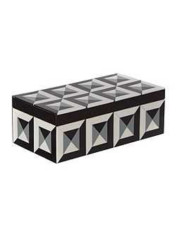 Geometric Bone Trinket Box