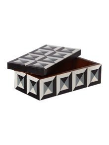 Living by Christiane Lemieux Geometric Bone Trinket Box